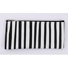 Online Shop <b>1pcs Multicolor</b> Stripe Pencil Case Cosmetic Makeup ...