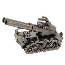 2019 Iron Tank Model Desktop Decor Home Decoration Accessories ...