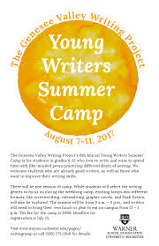 young writers summer camp