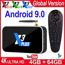 X3 Pro Smart TV Box 4GB RAM DDR4 32GB <b>Android 9.0 TV</b> Box ...