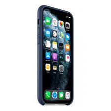 Кожанный <b>чехол Apple Leather Case</b> для iPhone 11 Pro темно ...