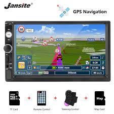 <b>Jansite 7</b> 2 Din <b>1080P Car</b> Radio DVD GPS MP5 Player Digital ...
