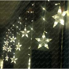 multicolor led star string lights battery operated for indoor outdoor 7 battery powered indoor lighting