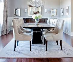 dining room table mirror top: even a simple dining are like this looks even more lovely with a mirrored table top as well as mirrors around the walls a chic dining room holds a couture
