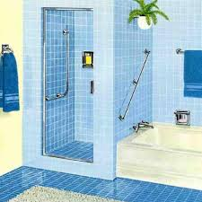 blue bathroom tile ideas:  blue bathroom floor tiles