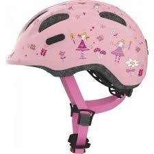 Купить <b>Велошлем</b> детский <b>ABUS SMILEY 2.0</b>, ROSE PRINCESS ...