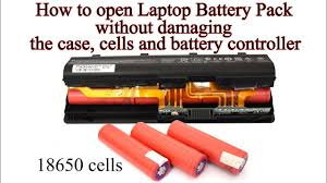 How to open Laptop <b>Battery</b> without damaging the Case, 18650 ...