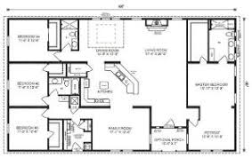 Garage Plans With  Bedroom Apartment  amp  Garage Floor Plansranch house floor plans bedroom Love this simple  no watered space plan   add