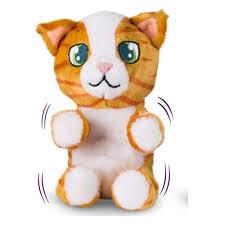 Интерактивная <b>игрушка IMC Toys</b> 96752/96790 бело-рыжий кот ...