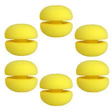Ckeyin ® <b>12 Pcs Soft</b> Sponge <b>Hair</b> Roller Curler Cute Mushroom ...