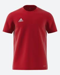 <b>Футболка</b> мужская Adidas <b>Core18 Jsy</b>, цвет: красный. CV3452 ...