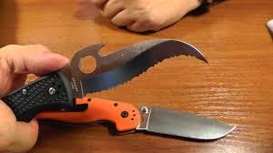 <b>Нож</b> Spyderco <b>Matriarch 2</b> Emerson Open - <b>нож</b> для нанесения ...