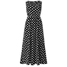 Meet <b>Women Sexy</b> Fashion <b>Polka Dots</b> Sleeveless Halter Neck ...