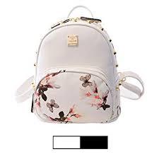 Amazon.com: <b>Mini Backpack</b> for Girls Designer <b>Rivet</b> PU Leather ...