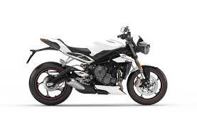 2019 <b>Triumph Street Triple</b> RS Crystal White | International ...