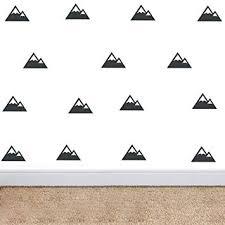 <b>YOYOYU</b> ART HOME <b>DECOR</b> Mountain Patterned Triangles <b>Wall</b> ...