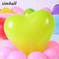 12 Inch <b>2.2g</b> Heart Balloons