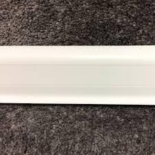 Плинтус <b>Идеал Комфорт</b> 001 Белый (<b>К55</b>, 2500*22*55мм), купить ...