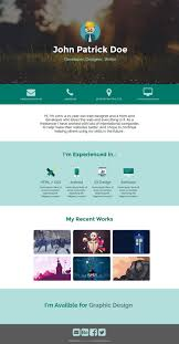 best website html templates  web reacutesumeacute modern online resume template