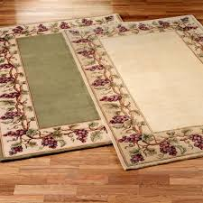 grapes grape themed kitchen rug: grapes napa border area rug click to expand