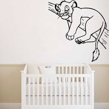 <b>DIY</b> Art The <b>Lion King</b> Wall Stickers <b>Vinyl</b> Decals For Kids Room ...