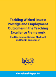 hepi new hepi discussion paper argues for changes to the teaching in the first part why research trumps teaching and what can be done about it paul blackmore professor of higher education at king s college london