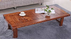 japanese antique low table rectangle 9048cm folding legs asian furniture traditional living room solid cheap asian furniture