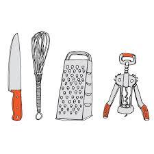 kitchen utensil: kitchen utensils image image  tattly julia rothman kitchen utensils web design  grande