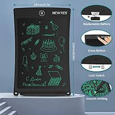 NEWYES <b>8.5</b>-<b>Inch LCD Writing</b> Tablet- Drawing Board Gifts for Kids ...