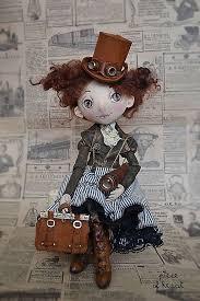 Allow yourself a little <b>adventure</b> | Куклы, Самодельные куклы и ...