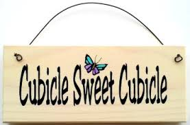 cubicle sweet cubicle with blue butterfly decoration office sign cheap office cubicles