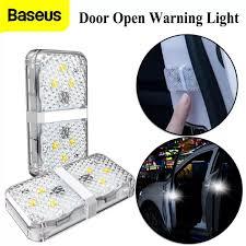 <b>Baseus Car Door</b> Opening Warning Lights Waterproof 6 LED Safety ...