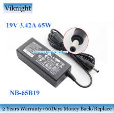 GenuineNB 65B19 <b>19V</b> 3.42A 65W AC <b>Adapter Charger</b> For APD ...