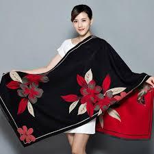 Best Sale #611f - Shawl Women's Thickening Warm Pashmina ...
