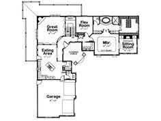 ideas about L Shaped House on Pinterest   L Shaped House    The marvelous of L Shaped House Plans With Car Garage digital above  is a