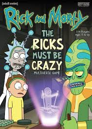 <b>Rick</b> and Morty: The Ricks Must Be Crazy <b>Multiverse</b> Game | Board ...