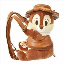 Disney Japan <b>Rucksack Backpack</b> Chip <b>Stuffed</b> Toy Style Rescue ...