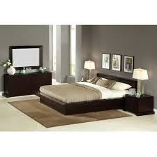 platform bed bedroom set