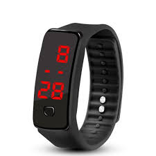HC-<b>TOP</b> Creative LED Silicone <b>Wristband Bracelet Fashion</b> Fitness ...