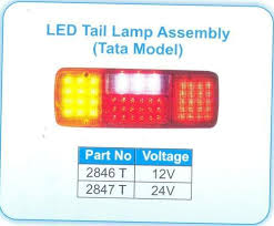 4 Chamber LED <b>Tail</b> Lamp   M. N. <b>Auto</b> Products Private Limited ...