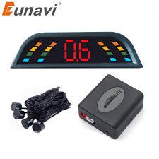 Buy Eunavi <b>Car Auto Parktronic LED</b> Parking Sensor With 4 Sensors ...