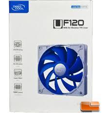 <b>DeepCool UF120 120mm</b> Case Fan Review - Legit ...