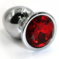 <b>Средняя алюминиевая анальная пробка</b> Kanikule Medium с ...