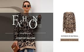 PRETTYGARDEN <b>Women's</b> Casual Leopard Print Long Sleeve ...