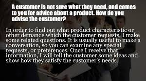 customer service executive interview questions