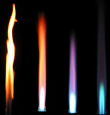 """Почему <b>огонь</b> бывает голубой или желтый? :: Сто тысяч """"почему ..."""