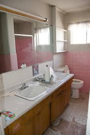 bathroom demolition continues