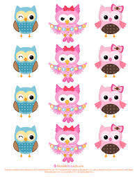 printable party invitations owl cupcake toppers template printable party invitations owl cupcake toppers template