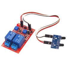 12V DC 2 Channel <b>Flame Sensor</b> Relay <b>Module</b> Alarm <b>Flame Flare</b> ...