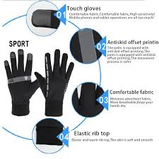Kids <b>Cycling</b> Ski <b>Warm Gloves Winter Bike</b> Sports <b>Bicycle</b> Full Finger ...